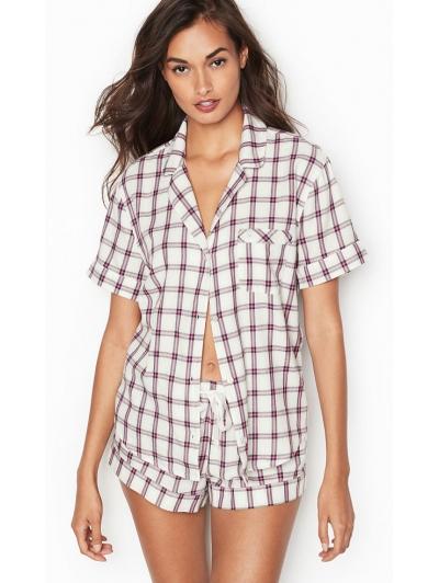 Пижамка Victoria's Secret Flannel Boxer PJ