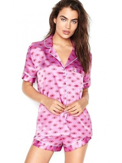 Пижамка Victoria's Secret Afterhours Satin Boxer PJ