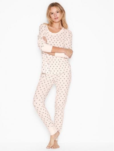 Термо-пижама Victoria's Secret Thermal PJ Set