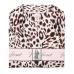 Атласная Пижама Victoria's Secret Satin Short PJ Set, White Leopard