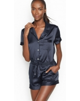 Ромпер Victoria's Secret  Satin Button-front Romper
