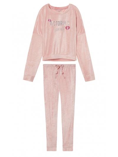 Бархатный костюм Victoria's Secret  Velour Pullover