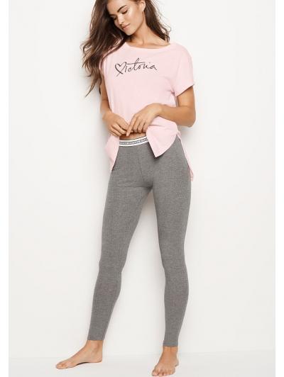 Пижамка Victoria's Secret Victoria Tee & Legging Set