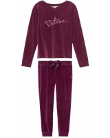 Велюровый костюм Victoria's Secret  Velour Crossback Pullover&Velour Jogger