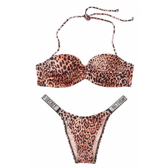 Купальник Бандо Victoria's Secret Mallorca Twist-front Bandeau