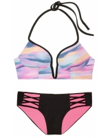 Купальник Victoria's Secret Pink мультиколор принт