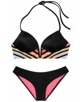 Купальник Victoria's Secret PINK Midline Plunge & Ruched Mini Bikini