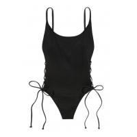 Сдельный купальник Victoria's Secret PINK Ribbed Lace-Up One-Piece