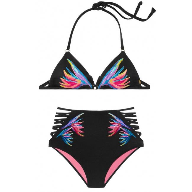 Купальник Victoria's Secret Pink Push-Up Triangle Top & High-Waist Bikini
