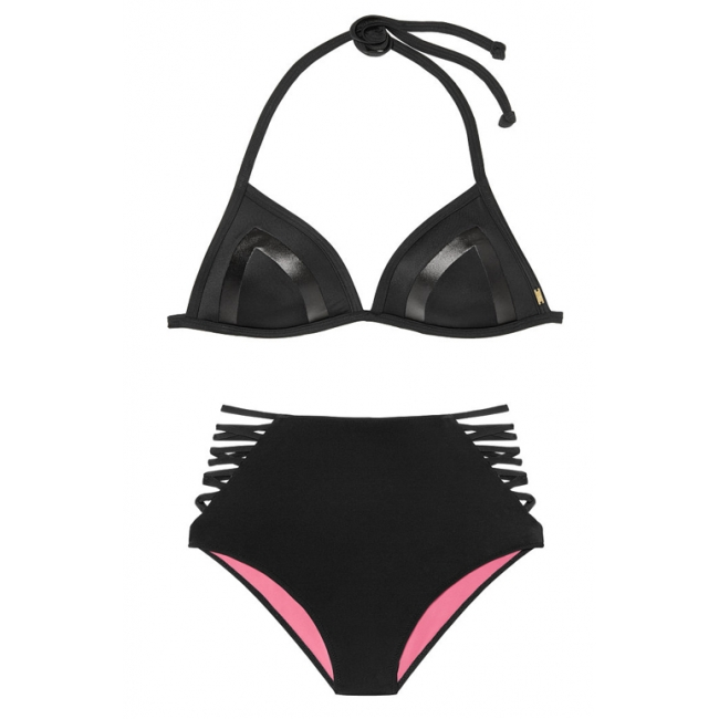 Купальник Victoria's Secret Pink Push-Up Triangle Top & High-Waist Bikini