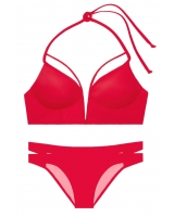 Купальник Victoria's Secret Pink Strappy V-Wire Plunge & Strappy Bikini