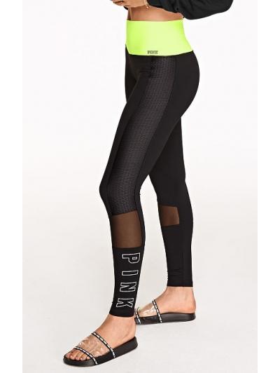 Спортивные леггинсы PINK Ultimate High Waist Mesh Legging