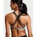 Спортивный бюстгальтер-топ Victoria's Secret Crossback Sport Bra Black