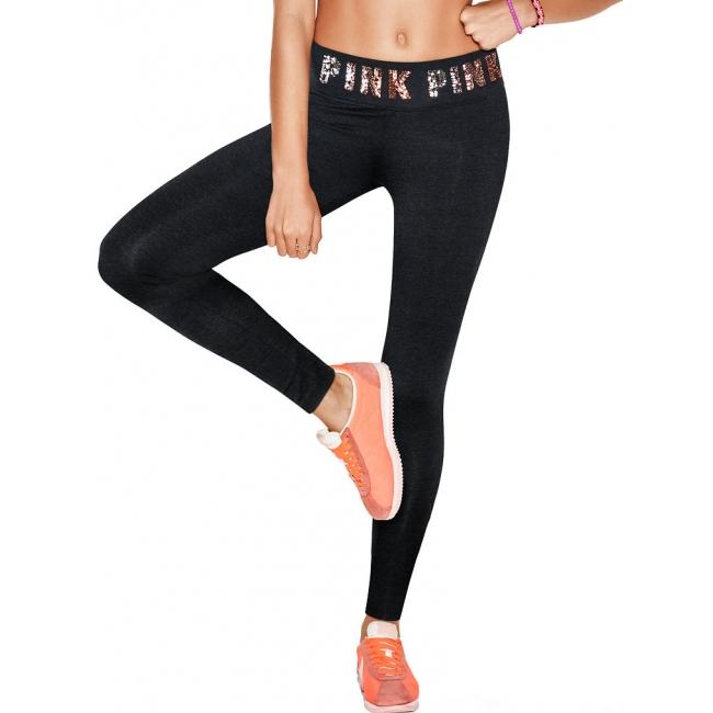 Спортивные леггинсы Bling Cotton Legging Pink