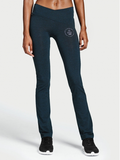 Штаны от VICTORIA SPORT The Everywhere Crossover Slim Boot Pant Navi Blue