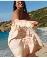 Полотенце Beach Towel, pink stripe