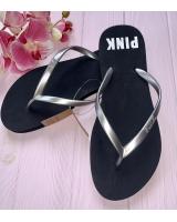 Вьетнамки Victoria's Secret Pink Flip-Flops, Black